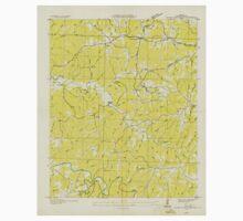 USGS TOPO Map Alabama AL Guinn Cross Roads 304057 1936 24000 Baby Tee