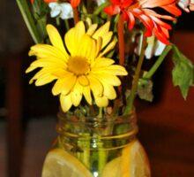 Lemon Water For Flowers Sticker