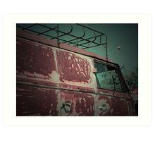 Rat Look VW Split Screen (Splitty) Van Image Art Print