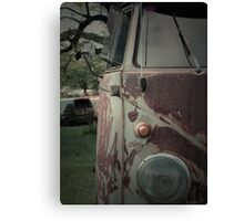 Rat Look VW Split Screen (Splitty) Van Image Canvas Print
