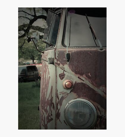 Rat Look VW Split Screen (Splitty) Van Image Photographic Print