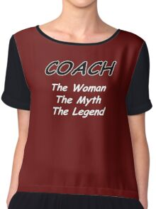 Coach - The Woman - The Myth - The Legend Chiffon Top
