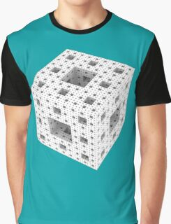 Menger Sponge Graphic T-Shirt
