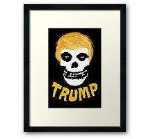 "donald ""skeleton"" trump Framed Print"