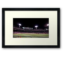 Sox at Fenway Park Framed Print