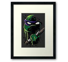 Cowabunga - Donnie Framed Print