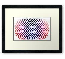 Hommage to Bridgette Riley Framed Print