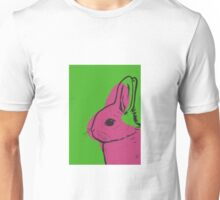 Hot Pink Bunny Unisex T-Shirt
