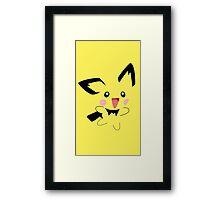 Michu Minimal (Pokemon) Framed Print