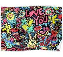 Love You Doodle  Poster