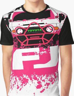 Pink FJ Graphic T-Shirt