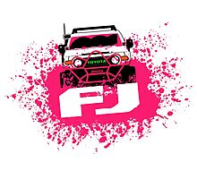 Pink FJ Photographic Print
