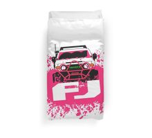 Pink FJ Duvet Cover