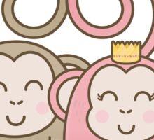 Monkey Go! Sticker