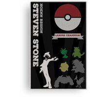 Steven Champion Poster (Pokemon) Canvas Print