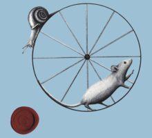 Dilemma; snail has the upper hand Baby Tee