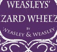 Weasleys' Wizard Wheezes Staff Purple Variation Sticker