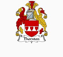 Thornton Coat of Arms / Thornton Family Crest Unisex T-Shirt