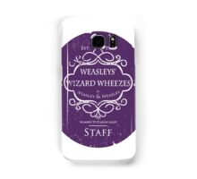 Weasleys' Wizard Wheezes Staff Purple Variation Samsung Galaxy Case/Skin