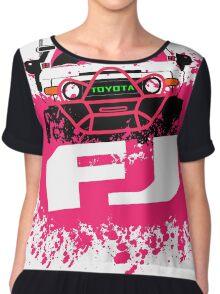 Pink FJ Chiffon Top
