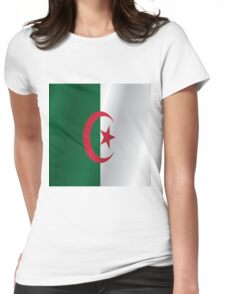 Algeria flag Womens Fitted T-Shirt