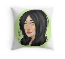 Random Bust Throw Pillow