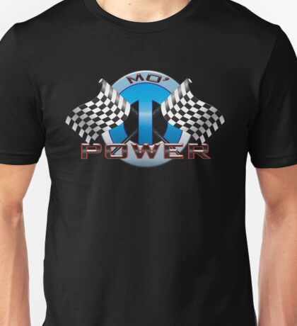 Mo' Power - Blue Unisex T-Shirt