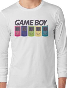 GAMEBOY COLOR Long Sleeve T-Shirt