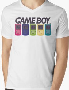 GAMEBOY COLOR Mens V-Neck T-Shirt