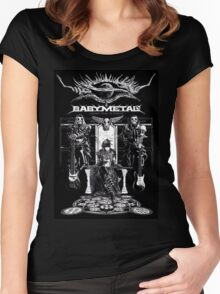 baby metal Women's Fitted Scoop T-Shirt