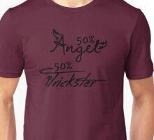 50% Angel - 50%Trickster Unisex T-Shirt