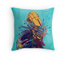 guardian of songbirds Throw Pillow