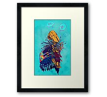 guardian of songbirds Framed Print
