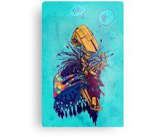guardian of songbirds Metal Print