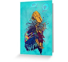 guardian of songbirds Greeting Card