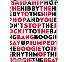 rappers delight-sugarhill gang iPad Case/Skin