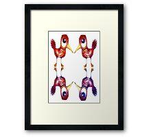 Mythical Birds Framed Print