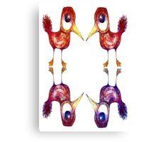 Mythical Birds Canvas Print