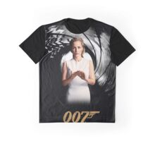 Gillian Anderson as Jane Bond 007 Graphic T-Shirt