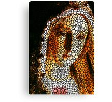 Mary - Holy Mother By Sharon Cummings Canvas Print