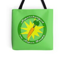 Supercharged Vegan and Vegetarian design (no background) Tote Bag