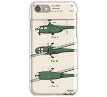 Helicopter Patent - Colour iPhone Case/Skin