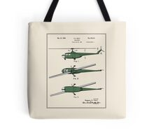 Helicopter Patent - Colour Tote Bag