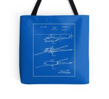 Helicopter Patent - Blueprint Tote Bag