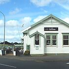 Post Office to restaurant by sandysartstudio