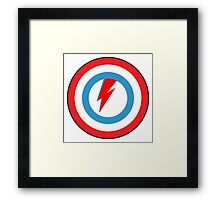 captain bowie Framed Print