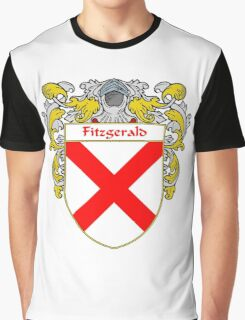 Fitzgerald Coat of Arms/Family Crest Graphic T-Shirt