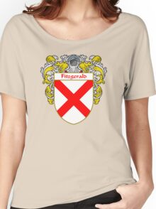 Fitzgerald Coat of Arms/Family Crest Women's Relaxed Fit T-Shirt