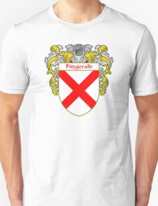 Fitzgerald Coat of Arms/Family Crest Unisex T-Shirt