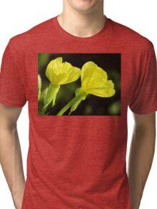 Morning Dew On Evening Primrose Tri-blend T-Shirt